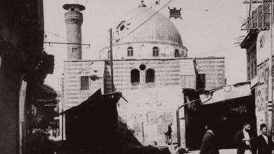 دمشق 1925- قصف مسجد السنانية في الثورة السورية الكبرى