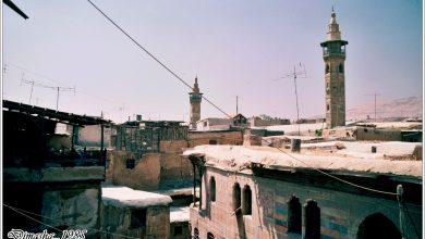 مآذن دمشــــق عام 1985