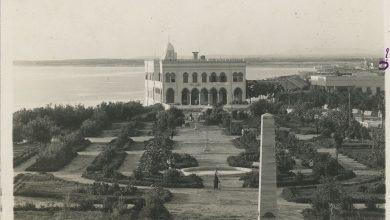 اللاذقية 1935 - الكازينو والحديقة العامة