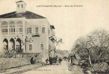 اللاذقية 1924 - قصر أسرة (سعادة) في شارع الأميركان ..