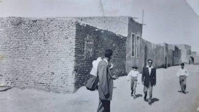 صورة الرقة – حي العجيلي في الخمسينيات (1)
