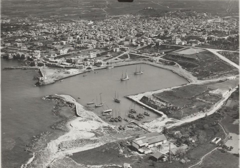 اللاذقية 1935- صورة جوية