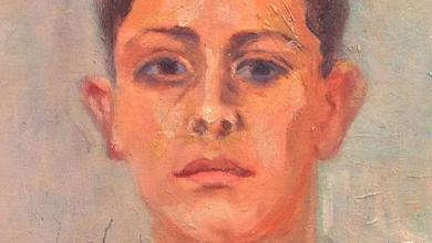 """صورة """"فؤاد"""" لوحة للفنان  ميشيل كرشة (5)"""