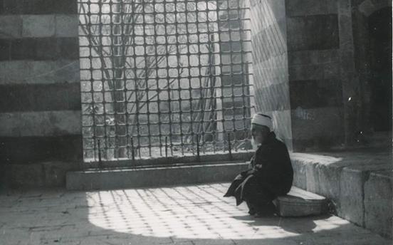 دمشق- التكية السليمانية في الخمسينيات