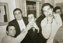 نادي اللاذقية عقب الفوز ببطولة الجمهورية لكرة الطائرة عام 1969