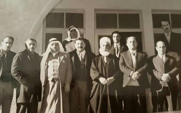 صورة السويداء 1973 – أول لجنة للتعبئة العامة في السويداء