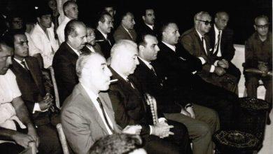 دمشق 1969 - حفل تكريم عميد حكام كرة القدم فوزي تللو