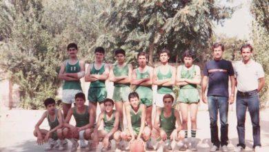 صورة دمشق 1981 –  فريق ناشئي نادي الوحدة في كيوان