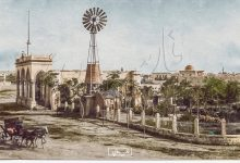 صورة صور تاريخية ملونة- منطقة العزيزية في حلب عام 1920