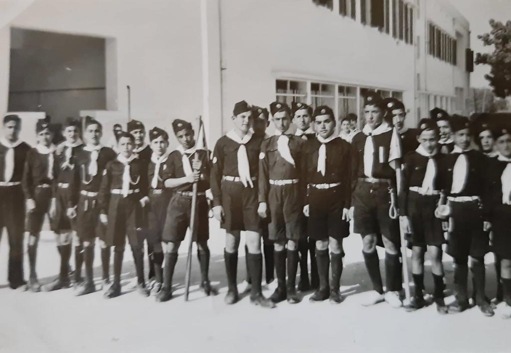 استقبال اللورد ويلسون في اللاذقية عام 1950