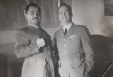 صورة النقيب أحمد عنتر والملازم أول موفق تيناوي