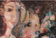 لوحة اشراقة .. لوحة للفنان أحمد مادون 1977