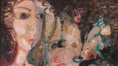 صورة لوحة اشراقة .. لوحة للفنان أحمد مادون (12)