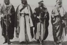رجال قبليون من رأس العين عام 1911