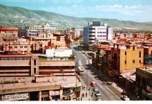 دمشق - جسر فكتوريا باتجاه المحافظة في الستينيات