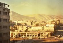 دمشق في الستينيات - ساحة جسر فكتوريا..