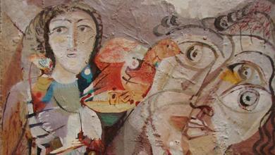 ترقب .. لوحة للفنان أحمد مادون (16)