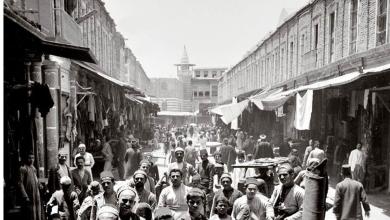 دمشق - تشـييد القسم الغربي لسوق الأروام - الحميدية