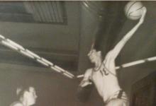 شامل داغستاني .. نجم سورية الدولي بكرة السلة في لقاء نادي القادسية في الكويت عام 1966