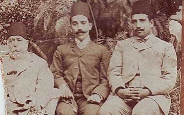 عطا باشا البكري وأولاده نسيب وفوزي