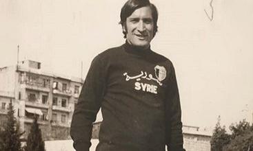 صورة جورج مختار حارس مرمى المنتخب السوري لكرة القدم في نهاية الستينيات
