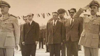 اللواء محمد الجراح في مدرسة الشرطة - شارع النصر 1960