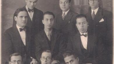 اللاذقية 1933 - أصدقاءُ المصوِّر (هوان) من مدينة اللاذقـيَّة ..