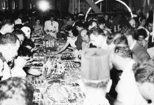 صورة معرض دمشق الدولي 1956 – أحد أجنحة المعرض