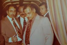 أحمد عنتر مدير شركة الطيران عام 1974