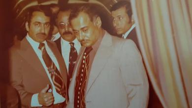 صورة أحمد عنتر مدير شركة الطيران عام 1974