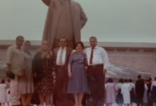أحمد عنتر مدير عام الطيران المدني في كوريا الشمالية - أيلول 1981