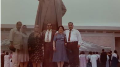 صورة أحمد عنتر مدير عام الطيران المدني في كوريا الشمالية – أيلول 1981