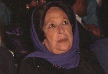 صورة دمشق 1989 – أمينة رزق في افتتاح مهرجان دمشق السينمائي السادس