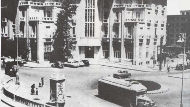 دمشق 1952 - ساحة الحجاز وفندق خوام