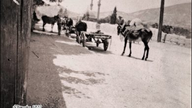 دمشق 1922 - التكية السليمانية .. شارع مسلم البارودي