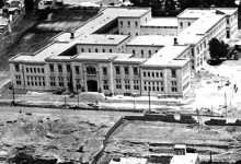 دمشق - مدرسة التجهيز عام 1934