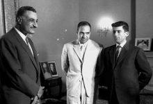 جمال عبد الناصر يستقبل عبد الحميد السراج 1962 (2)