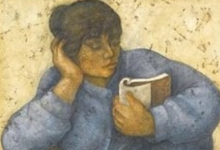 صورة القارئة 2 .. من لوحات الفنان لؤي كيالي (31)