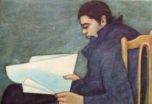 صورة القارئ  .. من لوحات الفنان لؤي كيالي (32)