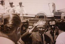 اللاذقية 1962- الرئيس ناظم القدسي في زيارة الى المرفأ