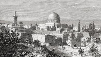 صورة جمال الدين القاسمي..إلى القدس مع انطلاق القطار الحديدي الحجازي