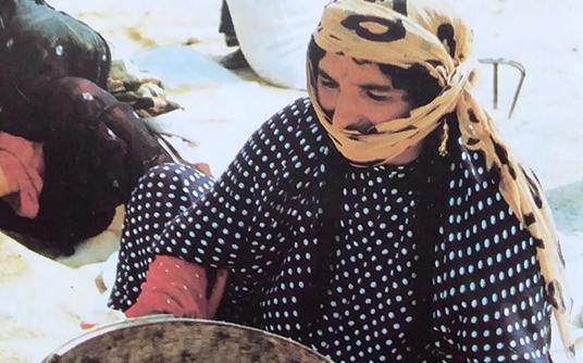 صورة وجه من الرقة .. مجلة العربي عام 1999 (2)