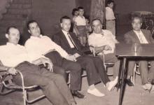 صورة بعض تجار حلب في بلودان خلال معرض دمشق 1961