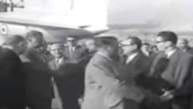 صورة فيديو – جمال عبد الناصر بدمشق في احتفال الوحدة الأول 1959