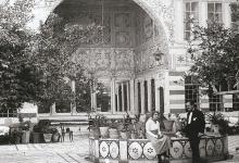 دمشق - يعقوب ليفي (استامبولي) مع زوجته أديل لينيادو  في أرض الديار