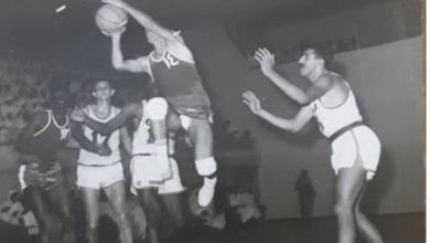 شامل داغستاني مع نادي القادسية الكويتي عام 1966