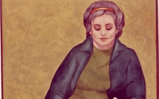 صورة القارئة 1 .. من لوحات الفنان لؤي كيالي (33)