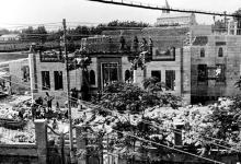 دمشق - أعمال تشييد البرلمان السورية 1928 – 1929