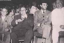 صورة دمشق 1957- محمد عبد الوهاب في ضيافة صبري العسلي في معرض دمشق الدولي