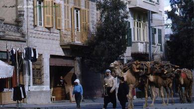 دمشق في الخمسينيات - بائعي الحطب